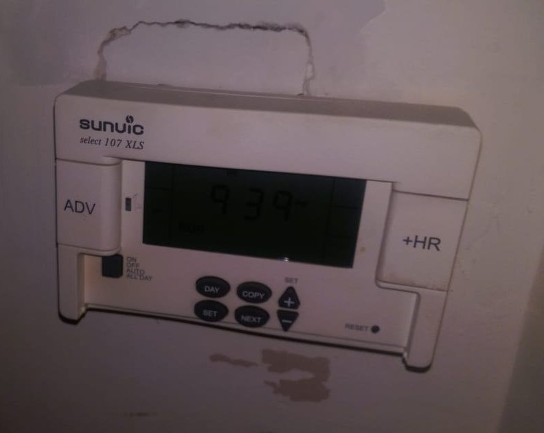 My Heating System Controller