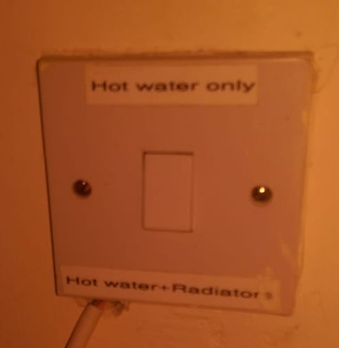 Exiting Manual Button