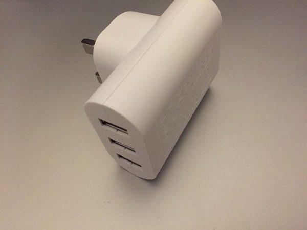 3-Port 3.4A USB Power Supply