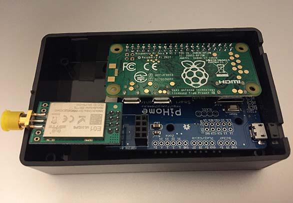 Serial Gateway on Raspberry Pi Zero GPIO
