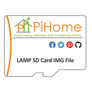 PiHome LAMP SD Card Image