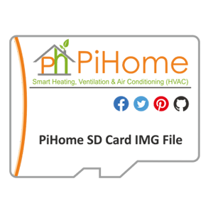 PiHome SD Card Image