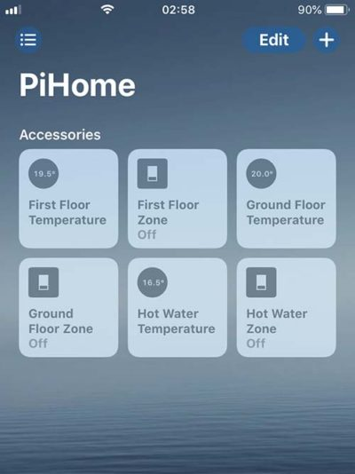 PiHome with iOS HomeKit and Homebridge