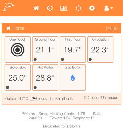 PiHome Smart Heating