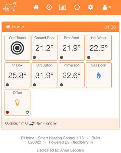 PiHome Smart Heating 1.76